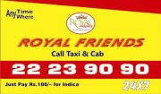 Royal Friends Call Taxi